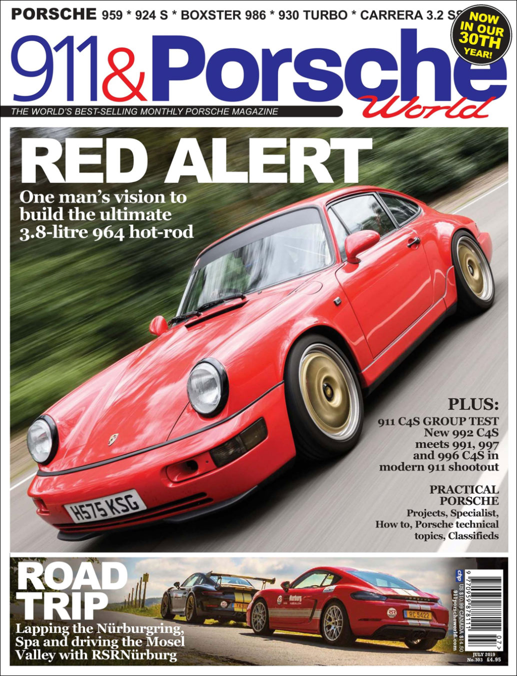 911 & Porsche World Magazine - July 2019