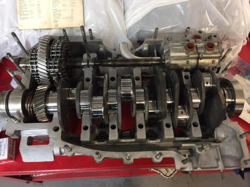 Crank Shaft IMS and Oil Pump Installation