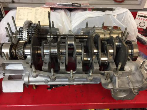 Crank Shaft IMS and Oil Pump Installation