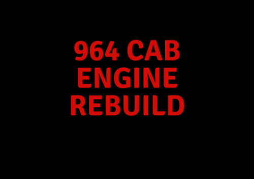 964 Cab Engine Rebuild